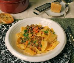 Lake Lure Cottage Kitchen - alice waters u0027 bolognese sauce on pappardelle pasta lake lure