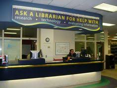 Library Reference Desk Ask Us Colour Coded Way Finding U0026 Loan Laptops Http Www Lib