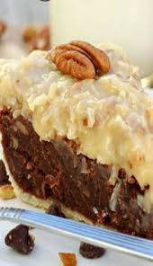 german chocolate brownie pie rich ultra chocolat ey brownie pie
