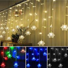 Indoor Curtain Fairy Lights Christmas Curtain Lights Ebay