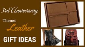 third anniversary gift ideas 3rd wedding anniversary gifts wedding anniversary