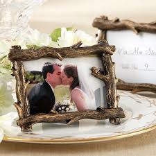 themed frames 4 x 3 rustic tree branch place card picture frame favors