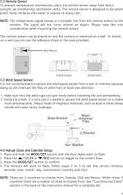 321rx home weather station user manual users manual thermor ltd