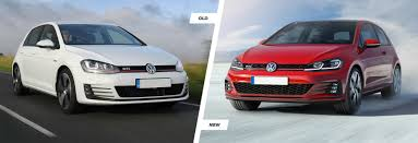 old volkswagen volvo 2017 vw golf mk7 facelift old vs new compared carwow