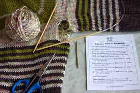 how to knit a sweater how to graft underarm stitches in a seamless sweater part 1