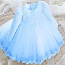 light blue dresses for kids baby flower girls lace bridesmaid tutu dress kids wedding party
