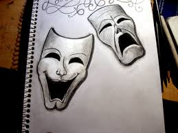 comedy tragedy by e jeezy deviantart com on deviantart tats