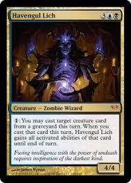 havengul lich dark ascension gatherer magic the gathering
