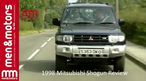 pajero mitsubishi 1998 1998 mitsubishi shogun review youtube