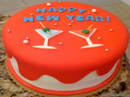 15 best cake design of happy new year 2018 for friends