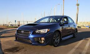 2017 subaru impreza sedan black 2017 subaru wrx limited sport lineartronic road test review by