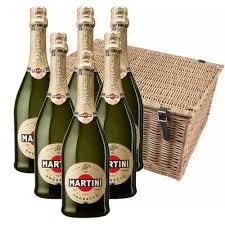martini champagne martini prosecco doc nv 75cl case of 6 hamper bottledandboxed com
