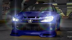 peugeot fastest car need for speed underground 2003 peugeot 206 pc walkthrough
