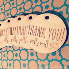 thank you tags engraved wood thank you tags wall woodworks company