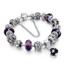 murano beads bracelet images European style murano bead bracelet w charms bracelets jpg