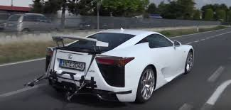 lexus lf a why is lamborghini doing sound tests on a lexus lfa autoevolution