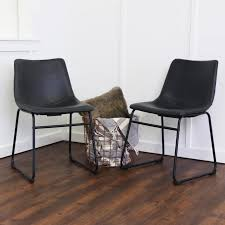 Dining Room Chairs Leather by Furniture Appealing Faux Leather Dining Chairs For Dining Room