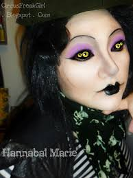 Spider Eyes Makeup Halloween by Hannabal Marie Miss Spider Makeup Look