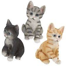 Cat Garden Decor Plastic Resin Cats Animals Garden Statues U0026 Lawn Ornaments Ebay