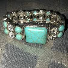 turquoise stone bracelet images Jewelry turquoise stone bracelet poshmark jpg