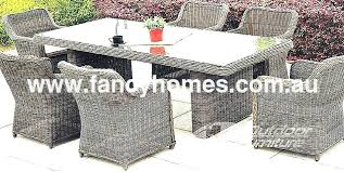 Rattan Patio Dining Set Wicker Outdoor Dining Set Chatel Co