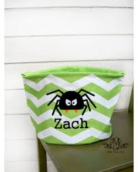 big deal on personalized spider trick or treat bag personalized