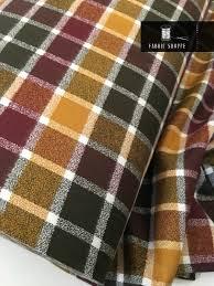 mammoth flannel fabric plaid flannel rustic home decor flannel