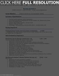 cna example resume cna sample resume moa format cover letter