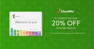 s day sales save 20 on dna test kits during 23andme st s day sale