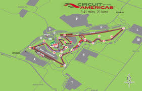 Circuit Of The Americas Map by Track Days Ducati Austin Texas
