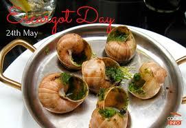 escargot cuisiné escargot day