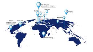 World Map Hungary by Detecon Hungary Detecon