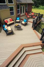 a beautiful azek deck makes life easier shown here hazelwood is