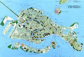 Italy On A Map by Tourist Map Venice Venezia U2022 Mapsof Net