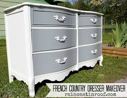 Chalk Paint Furniture Images by French Country Dresser Makeover Diy Chalk Paint