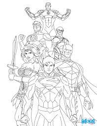 justice league coloring pages chuckbutt com