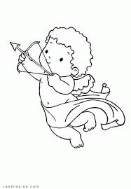 baby cupid coloring pages