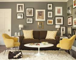 Best Color To Paint A Living Room With Brown Sofa Amazing Brown Furniture Wall Color Designs Interior Decoration
