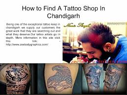 how to find a tattoo shop in chandigarh mob 0172 4641200