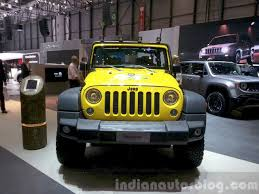 mahindra jeep price list 2015 jeep wrangler rubicon rocks star 2015 geneva live