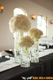 Hydrangea Centerpieces Uniquely Hers Clearly Classy Events