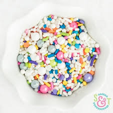 sweet treat cups wholesale unicorn cake sprinkles mix unicorn sprinkles