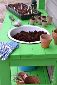 Inexpensive Potting Bench by 8 Best Images About Potting Bench On Pinterest Potting Tables