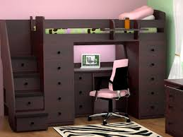 Twin Loft Bed With Desk And Storage  Home Improvement   Twin - Twin bunk beds with desk