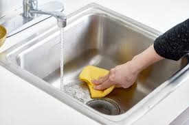 how to polish stainless steel sink how to polish a stainless steel sink with flour kitchn