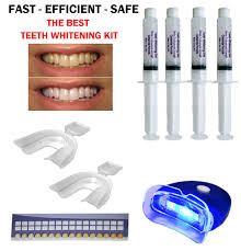 Teeth Whitening Kit With Led Light 44 Teeth Whitening Professional Dental System Kit At Home 4 Gel