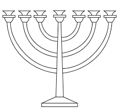 menorah coloring page free printable coloring pages