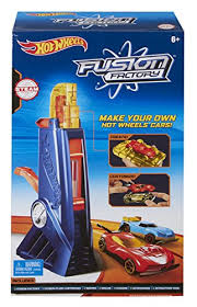wheels fusion factory car maker exclusive playset frustration