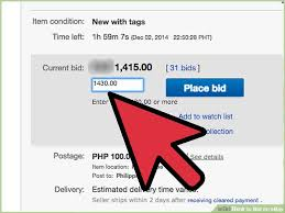auto bid on ebay how to bid on ebay 13 steps with pictures wikihow