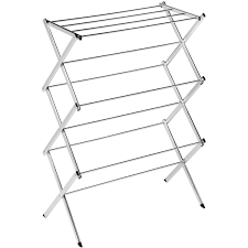 Commercial Bakers Rack Honey Can Do Commercial Chrome Accordion Drying Rack 24